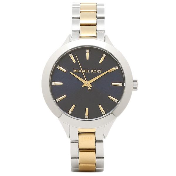 【訳ありアウトレット】マイケルコース 腕時計 レディース アウトレット MICHAEL KORS MK3528 ゴールド シルバー ネイビー【ラッピング不可商品】