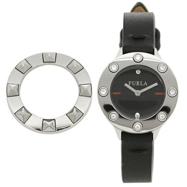 【訳ありアウトレット】フルラ 腕時計 レディース FURLA 976433 R4251116505 O60 ブラック シルバー【ラッピング不可商品】