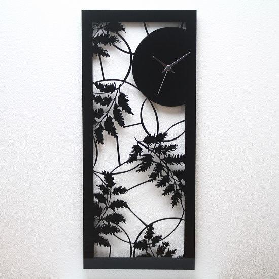イタリア製アートパネルクロック i DETTAGLI 【AUTUNNO】時計 壁掛け 掛け時計 壁掛け時計 おしゃれ 掛時計 かべかけ時計 切り絵アート