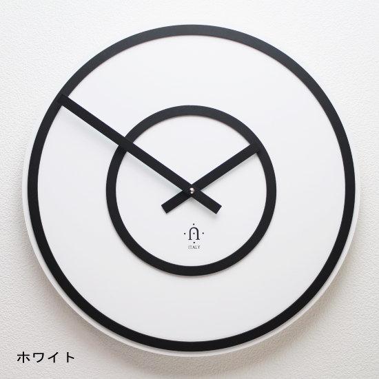 イタリア製デザイン掛け時計 REXARTIS 【SOFT】(木製 壁掛け時計 おしゃれ時計 アート インパクト シンプル モダン 新築祝い 開店祝い 結婚祝い アナログ サロン クリニック オフィス レトロ)