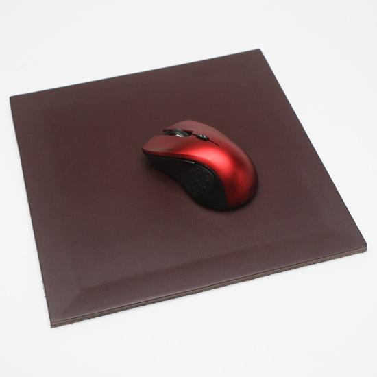 イタリア製ヌメ革マウスパッド arte & cuoio 【NOCE/ノーチェ マウスパッド】デザイナーズアイテム ギフト対応