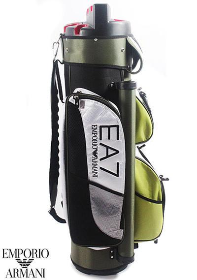 ○EMPORIO ARMANI 골프 가방 275233 2 P498 00084 EA7 희소 레어품