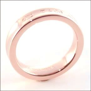 Tiffany&Co. 티파니 1837 내로우 반지 반지 RUBEDO ルベドメタル