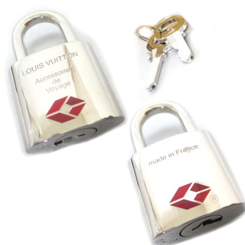 Cuore Louis Vuitton Padlock R00023 Silver Brighttsya And