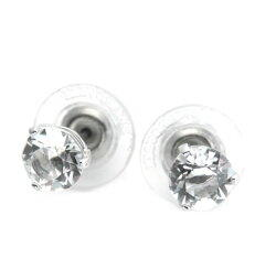 9b64eef38 Swarovski Solitaire sled tail crystal pierced earrings 1800046○ ...