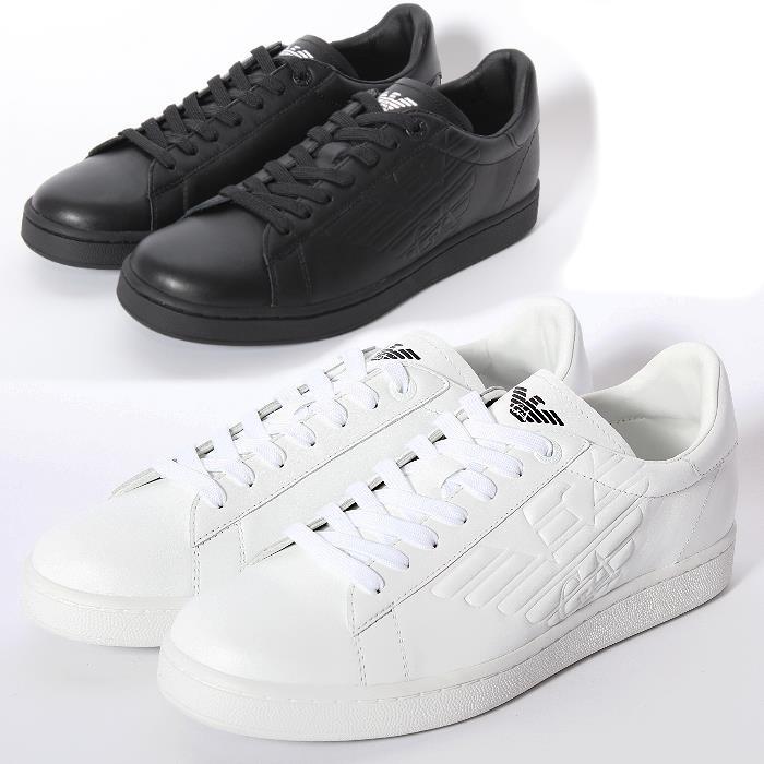 EMPORIO ARMANI Emporio Armani sneakers 278049 00020 CC299 00010 white black  mens