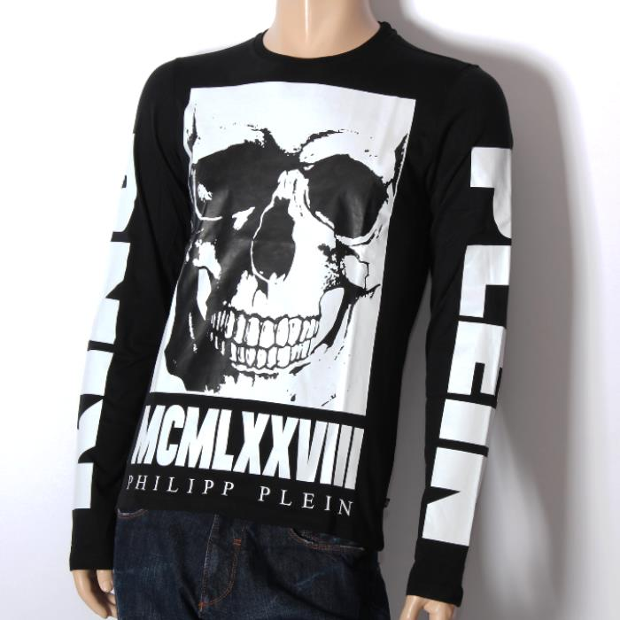 9b77ed8efb It is point 10 times in an entry! PHILIPP PLEIN Philip plane long sleeves T  ...