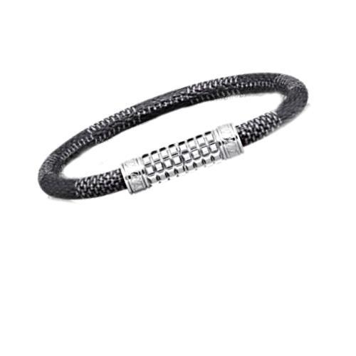 Louis Vuitton Bracelet Bangle Damien Grab Fit Digit M6626 Lv