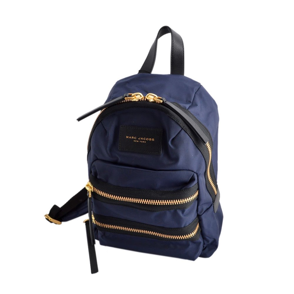 573e98c6c Mark Jacobs MARC JACOBS M0008298 415 Midnight Blue nylon mini-backpack  rucksack Nylon Biker Mini ...