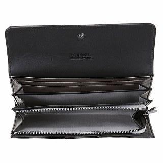 DIESEL柴油X03076 PR472 T8013黑色长钱包
