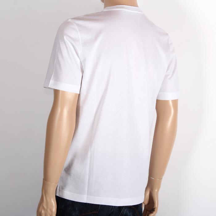 LOUIS VUITTON 루이비통 반소매 T셔츠 999199 화이트×네이비 LV자수 맨즈 히트 상품