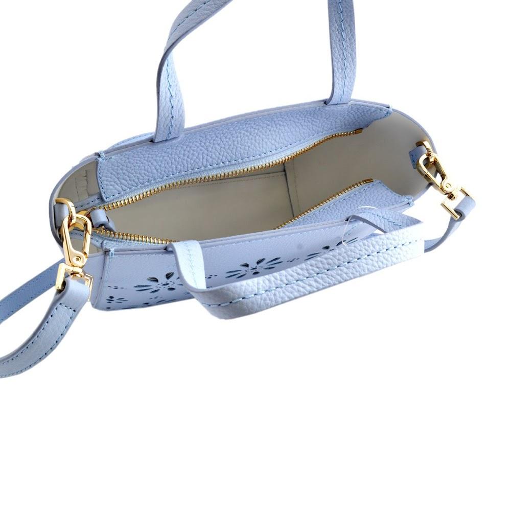 凯特 · 丝蓓凯特铁锹 PXRU6554 477 天空蓝黛西切出设计 2 方式肩手提包王菲开车小海莉