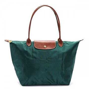 Longchamp 1899 089 835 Le Pliage Green Tote Bag