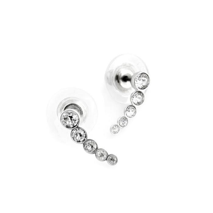 0260b8631 Swarovski Harley Earlobe Pierced Earrings - Image Of Earring
