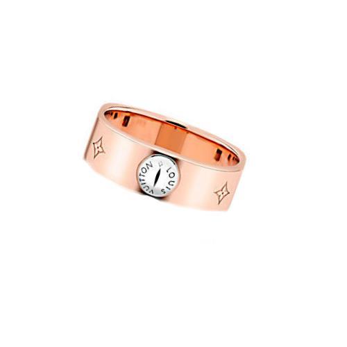LOUIS VUITTON ルイヴィトン リング指輪 M00213 ピンクゴールド モノグラム バーグナノグラム LV 【新品・未使用・正規品】