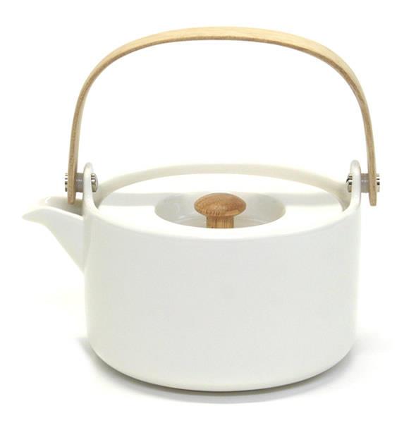 マリメッコ marimekko OIVA TEAPOT 700ml 063289 100 white ティーポット 急須 茶こし付【r】【新品・未使用・正規品】
