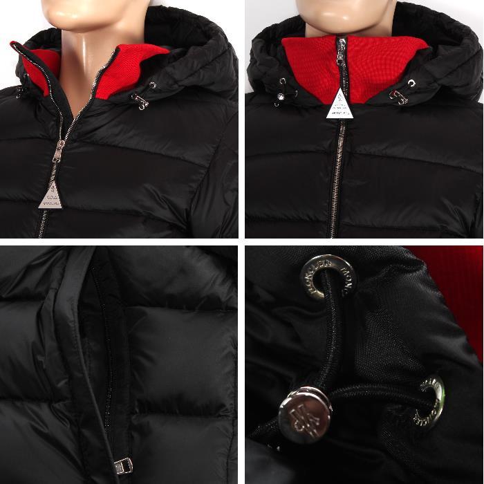 moncler clamart jacket black
