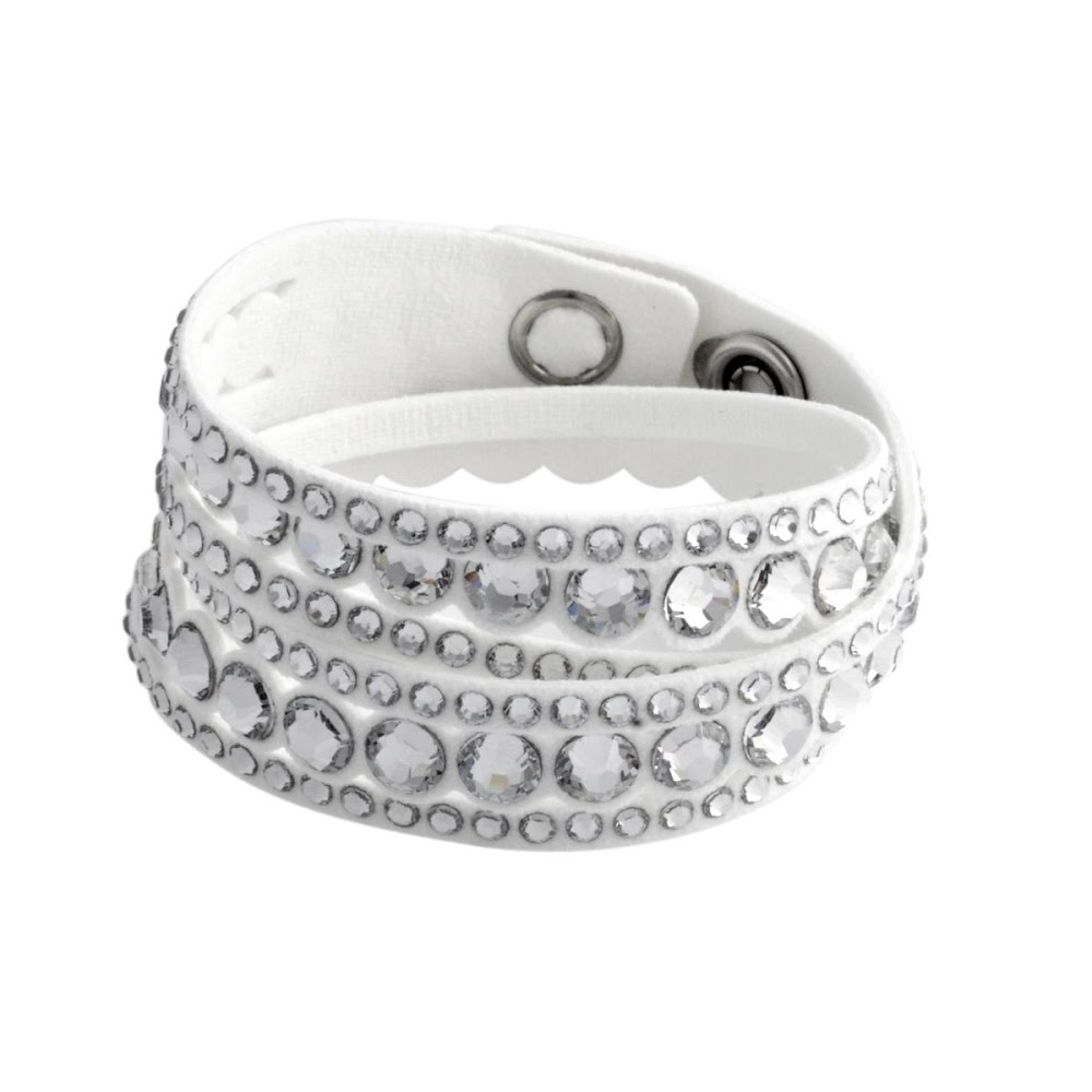 Crystal bracelets Swarovski SWAROVSKI 5240623 Slake White Dot