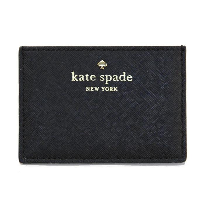separation shoes 996e0 65db4 Kate spade Kate Spade PWRU4027 001 Black card case card case Cedar Street  Card Holder