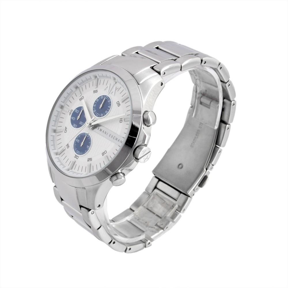 ポイント5倍 アルマーニ エクスチェンジ ARMANI EXCHANGE AX2136 メンズ クロノグラフ 腕時計 r新品 未使用 正規品tshQrCxd