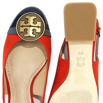 TORY BURCH トリーバーチ 32965 ZIA 신발 6 RED 609 남성 신발 05P05Nov16