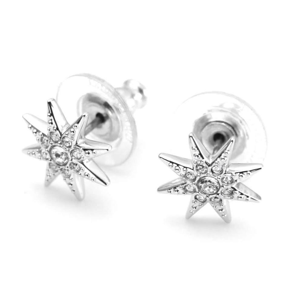 Swarovski SWAROVSKI 5230284 Fizzy-star star motif Crystal pave Stud Earrings e59dd87ff6