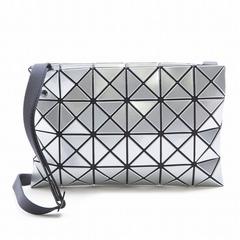 f089473c794f Popular item constant seller rare rare controlling BAOBAO バオバオ ISSEYMIYAKE  Issey Miyake bb68ag052-91 LUCENT BASIC silver luster Thoth hand shoulder bag  ...
