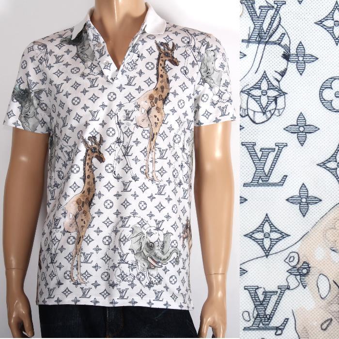 Cuore Louis Vuitton Louis Vuitton Limited Short Sleeved Polo Shirt