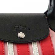 朝着LONGCHAMP Longchamp 1512854A26 LEPLIAGETROISBANDES H粉红手提包斜挎包