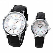emporio·阿玛尼EMPORIO ARMANI AR9113一对表人&女士手表