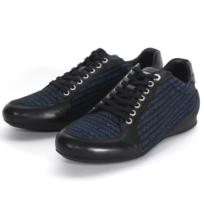 22b338112 It is point 10 times in an entry! EMPORIO ARMANI Emporio Armani sneakers  X4X049 XG457 ...