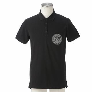 ディーゼル DIESEL 00SQS6 0CAMB 900 SHIRTS CL-T-HOWL CAMICIA 半袖ポロシャツ ブラック【c】【新品/未使用/正規品】