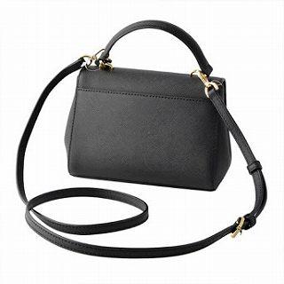 6348716f2198e3 MICHAEL KORS Michael Kors 32F5GAVC1L Black 2WAY shoulder handbag AVA