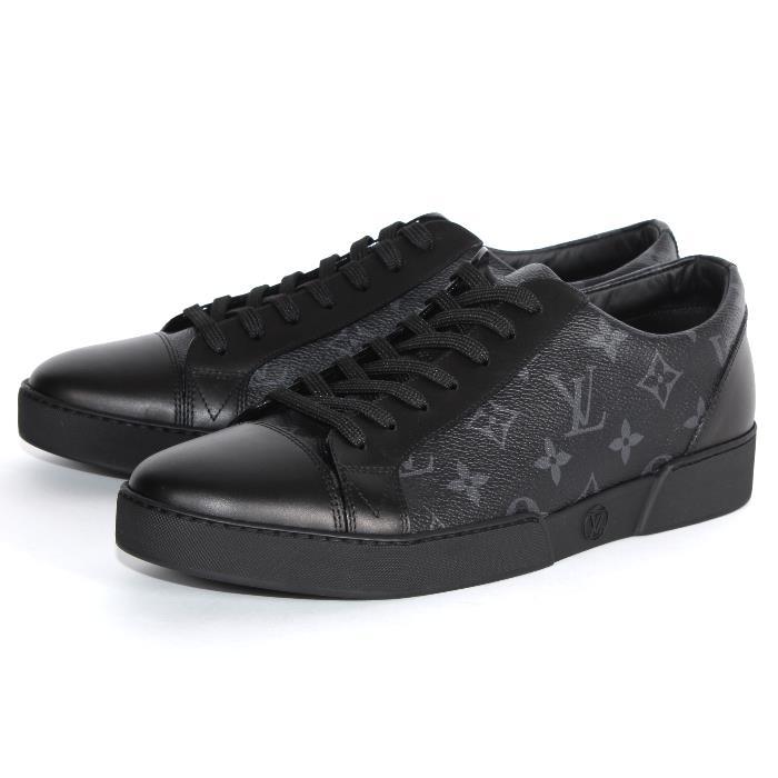 4991844ef3edd LOUIS VUITTON Louis Vuitton-limited black monogram sneakers 1A2C4W eclipse  men shoes shoes