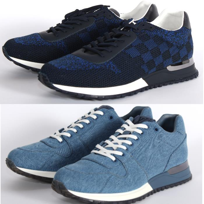 1c99939ec7f6a CUORE  LOUIS VUITTON Louis Vuitton orchid away sneakers blue running ...