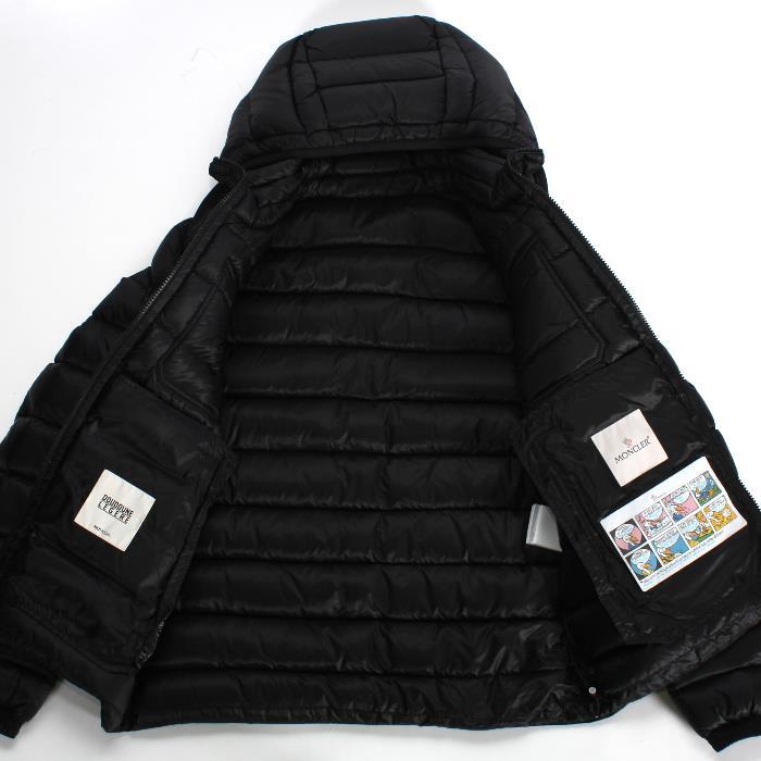 8de4efe27 MONCLER Monk rail down jacket VALENCE バレンスブラック 4188549 53334 999 men's  marketable goods