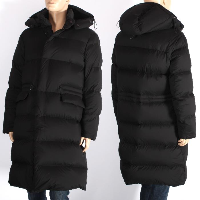 0cf06a322333c EMPORIO ARMANI Emporio Armani long down coat black 6y1la3 1ndxz 0999 bench coat  men marketable goods