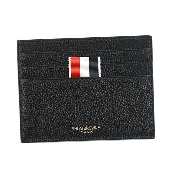 トムブラウン MAW031L-00198 カードケース BK 001名刺入れ【】【新品/未使用/正規品】