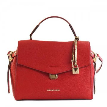 Michael Kors 30h7gzks5l Bristol Bright Red 204 Handbag