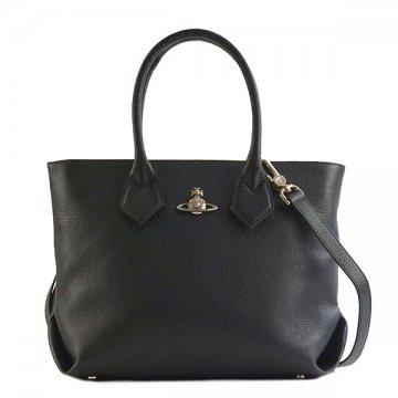 ヴィヴィアンウエストウッド Vivienne Westwood 42050011 BALMORAL ハンドバッグ BLACKハンドバッグ【】【新品/未使用/正規品】