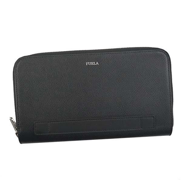 フルラ FURLA PV36 MAN MARTE ラウンド長財布 BK 938234【】【新品・未使用・正規品】