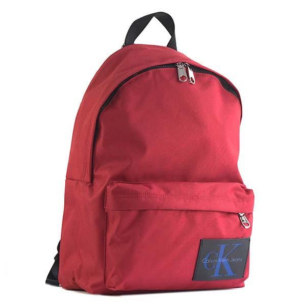 カルバンクラインCK JEANS K40K400202 バックパック RED 624リュックバッグ【】【新品/未使用/正規品】