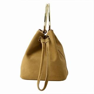 メゾンボワネ Maison Boinet 97078G-174-179 Nomade リングハンドル 巾着型 2WAY ミニバッグ ショルダーバッグ S【r】【新品・未使用・正規品】