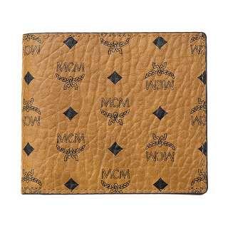 MCM エムシーエム 二つ折り財布MXS8SVI66CO001 COGNAC 財布【c】【新品/未使用/正規品】