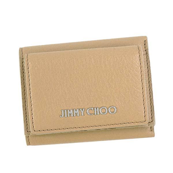 ジミーチュウ NAIMA GRZ L.PK 3つ折小銭付き財布【】【新品/未使用/正規品】