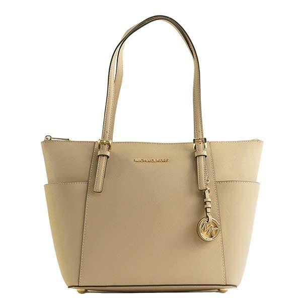 31534928ff28 Michael Kors 30F2GTTT8L JET SET OYSTER 134 beige Thoth shoulder bag