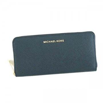 MICHAEL KORS マイケルコース 32S3GTVE3L JET SET NAVY 406ラウンド長財布【】【新品/未使用/正規品】