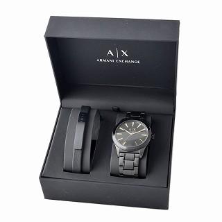 edf2d0da Armani exchange ARMANI EXCHANGE AX7102 men watch bracelet gift set with