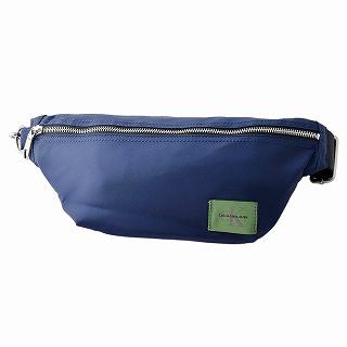 カルバン クライン ジーンズ Calvin Klein Jeans 75554-BLU ボディバッグ ウエストバッグ ベルトバッグ NYLON ZIPPER BELT BAG【r】【新品・未使用・正規品】