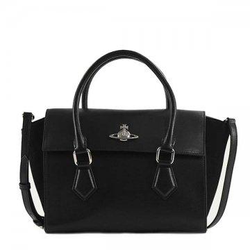 ヴィヴィアンウエストウッド 42020035 MATILDA ハンドバッグ BLACKショルダーバッグ【】【新品/未使用/正規品】